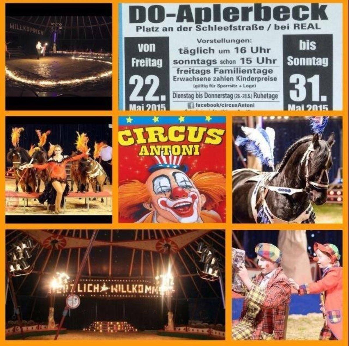 Circus Antoni Zu Gast In Aplerbeck Reservieren Sie Sich Jetzt Ihre