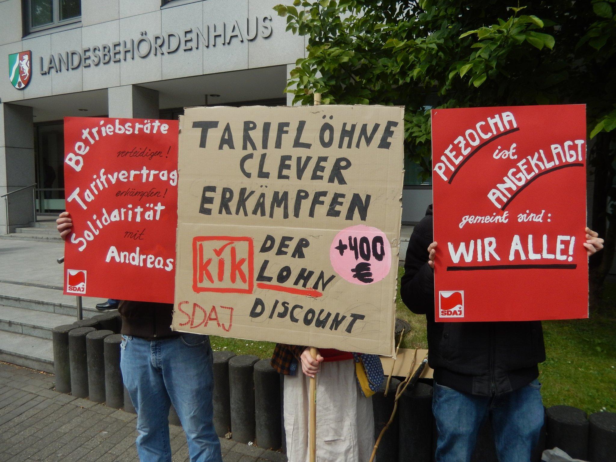 Gütetermin: KiK Vs. Unbequemer Betriebsrat