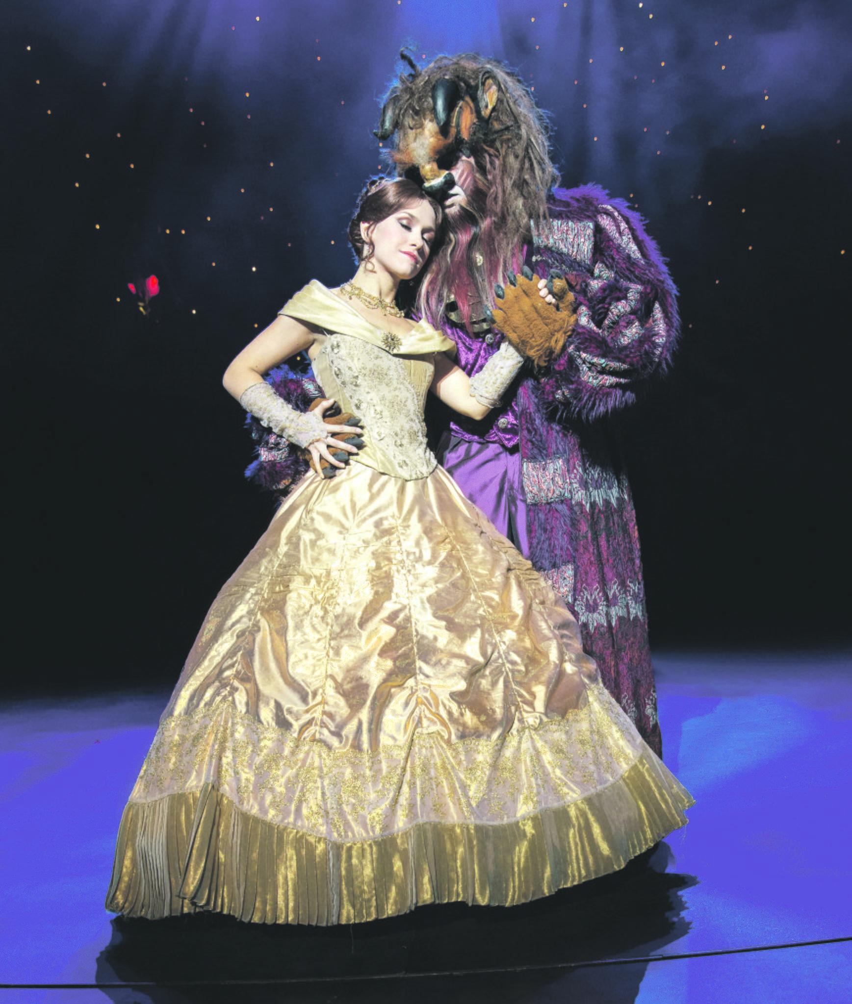 Musical Die Schöne und das Biest: Premiere im Opernhaus