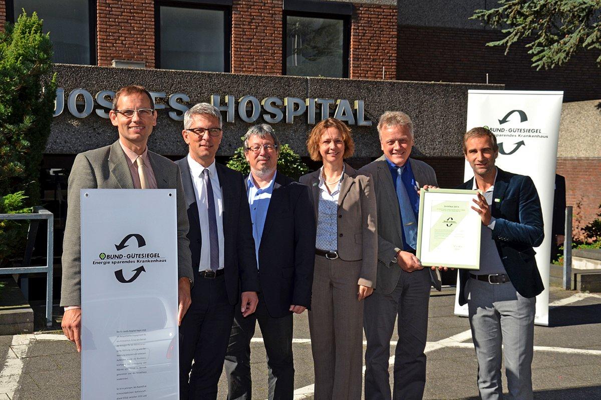 Bund Zeichnet St Josefs Hospital Hagen Als Energie Sparendes