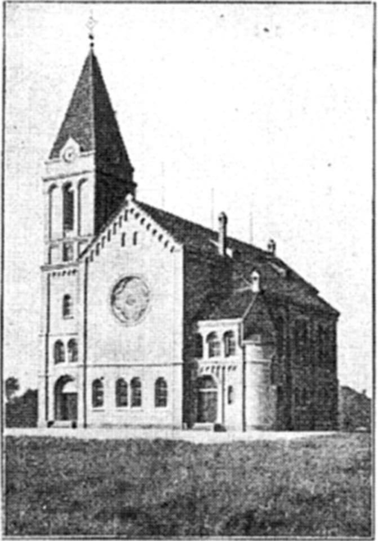Einweihungsfeier der evangelischen Kirche in Hiesfeld—Schmachtendorf ...