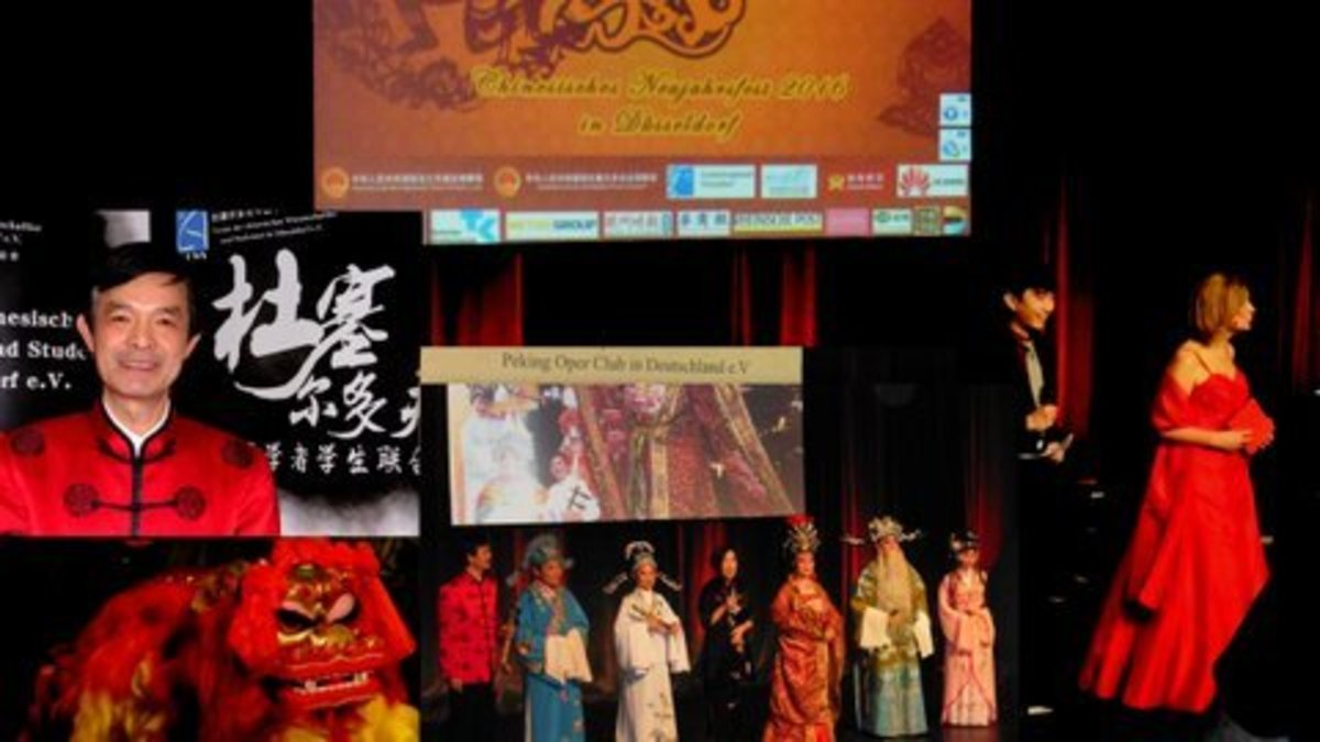 chinesisches neujahrsfest 2016 - jahr des affen - Düsseldorf