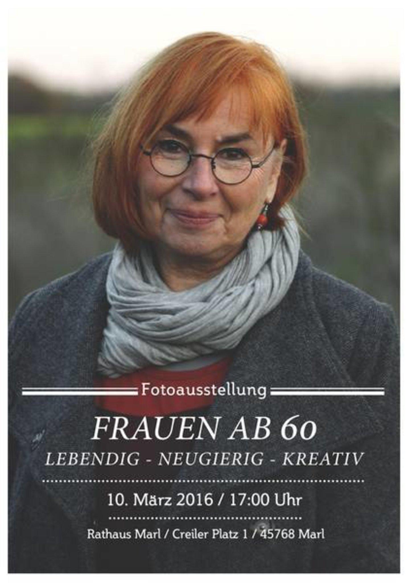 Ausstellung Frauen Ab 60 Noch Bis 1 April Im Rathaus Marl