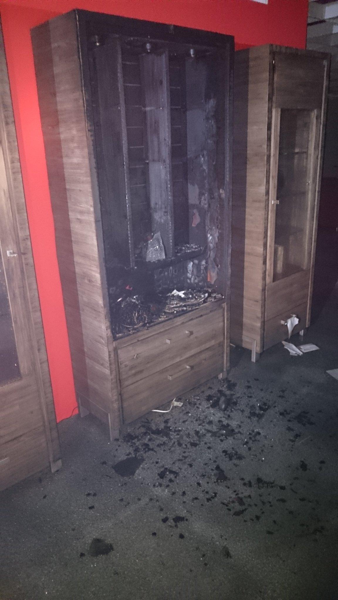 Brand Im Möbelhaus Finke Oberhausen