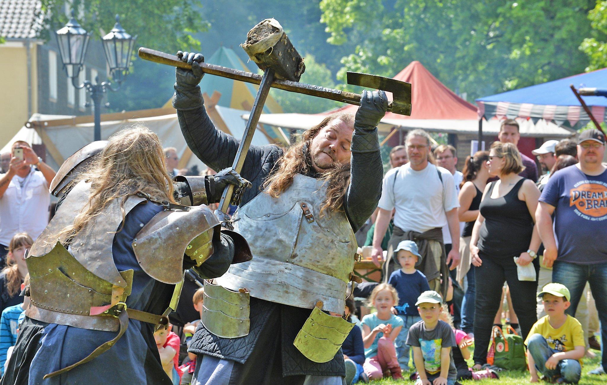 Schlachten wie im Mittelalter - Velbert