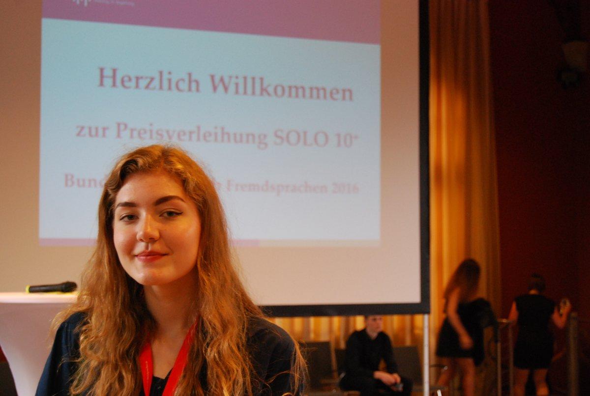 Sprachbegabt Johanna Koen Sie Beglegte Beim Bundesdeutschen