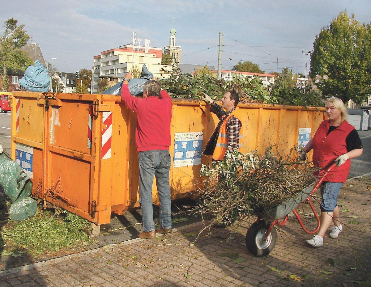Die Grun Container Kommen Herne