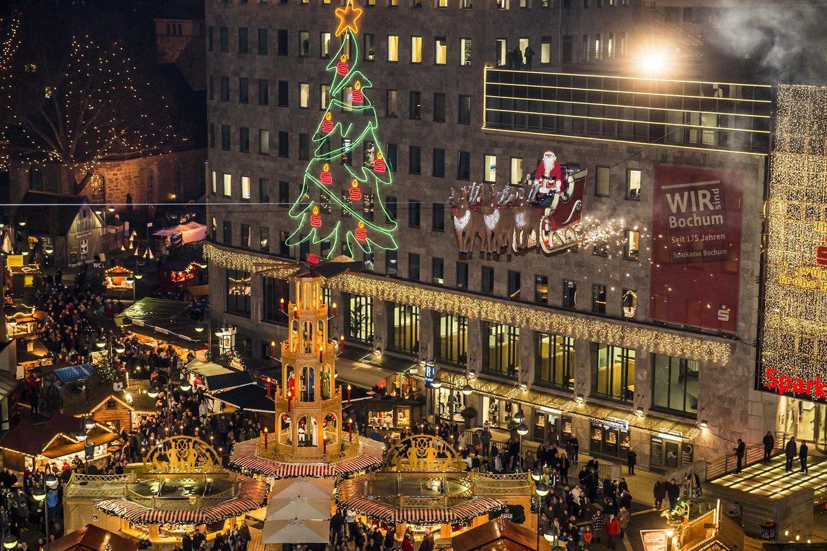 Weihnachtsmarkt Morgen.Der Zauber Beginnt Morgen öffnet Der Weihnachtsmarkt Bochum