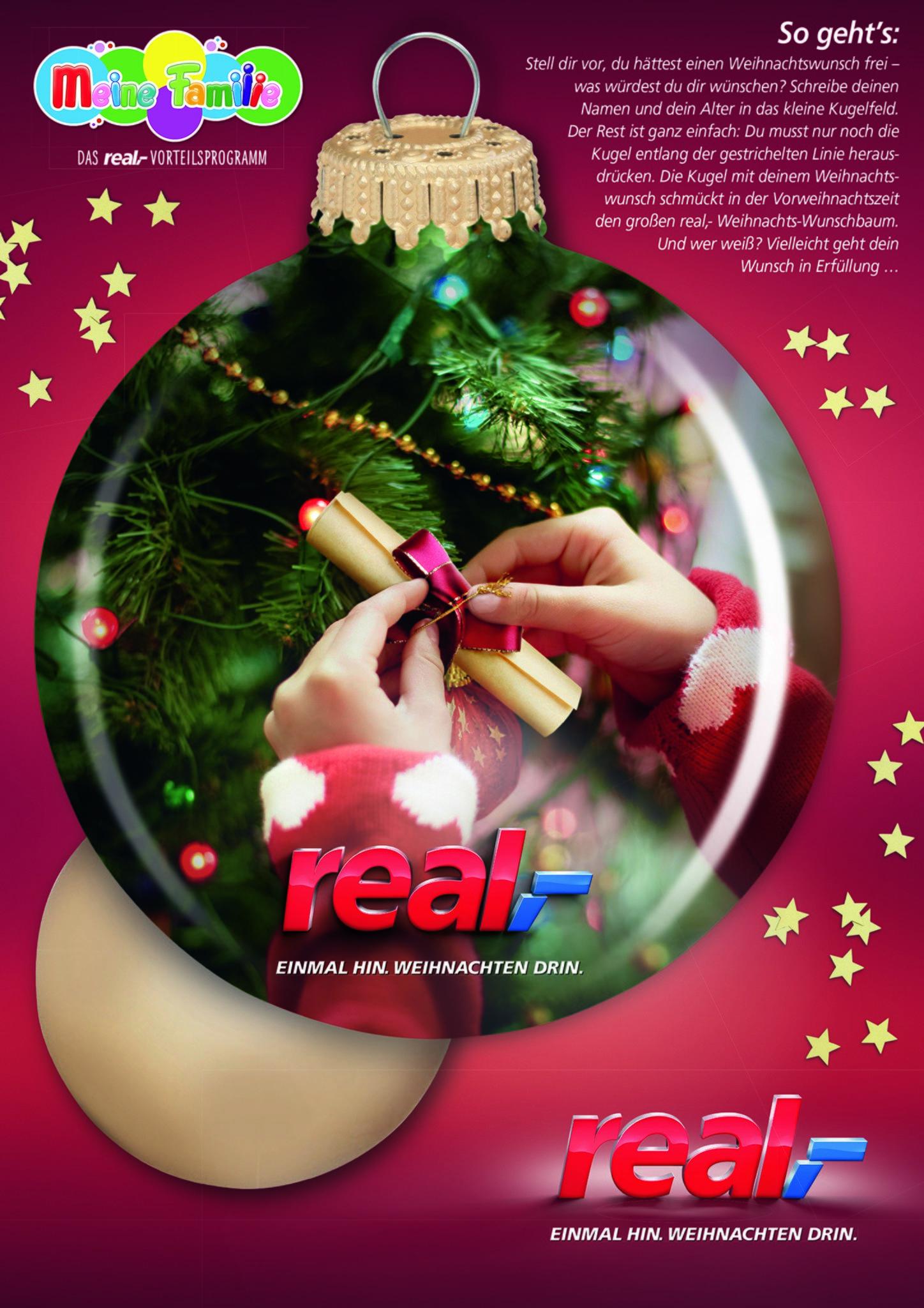 Weihnachten Wunsch.Zehn Jahre Weihnachts Wunschbaum Bei Real Heiligenhaus