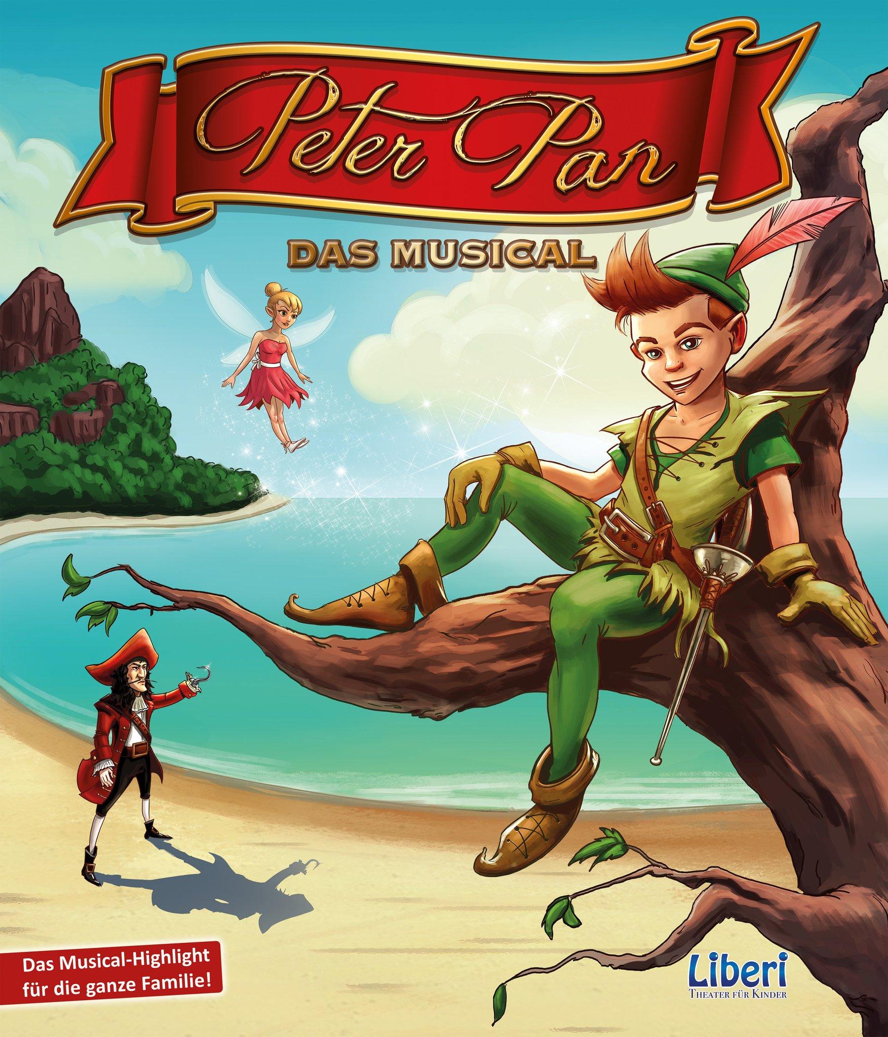 Für Immer Kind Sein Peter Pan Das Musical Gastiert In Der