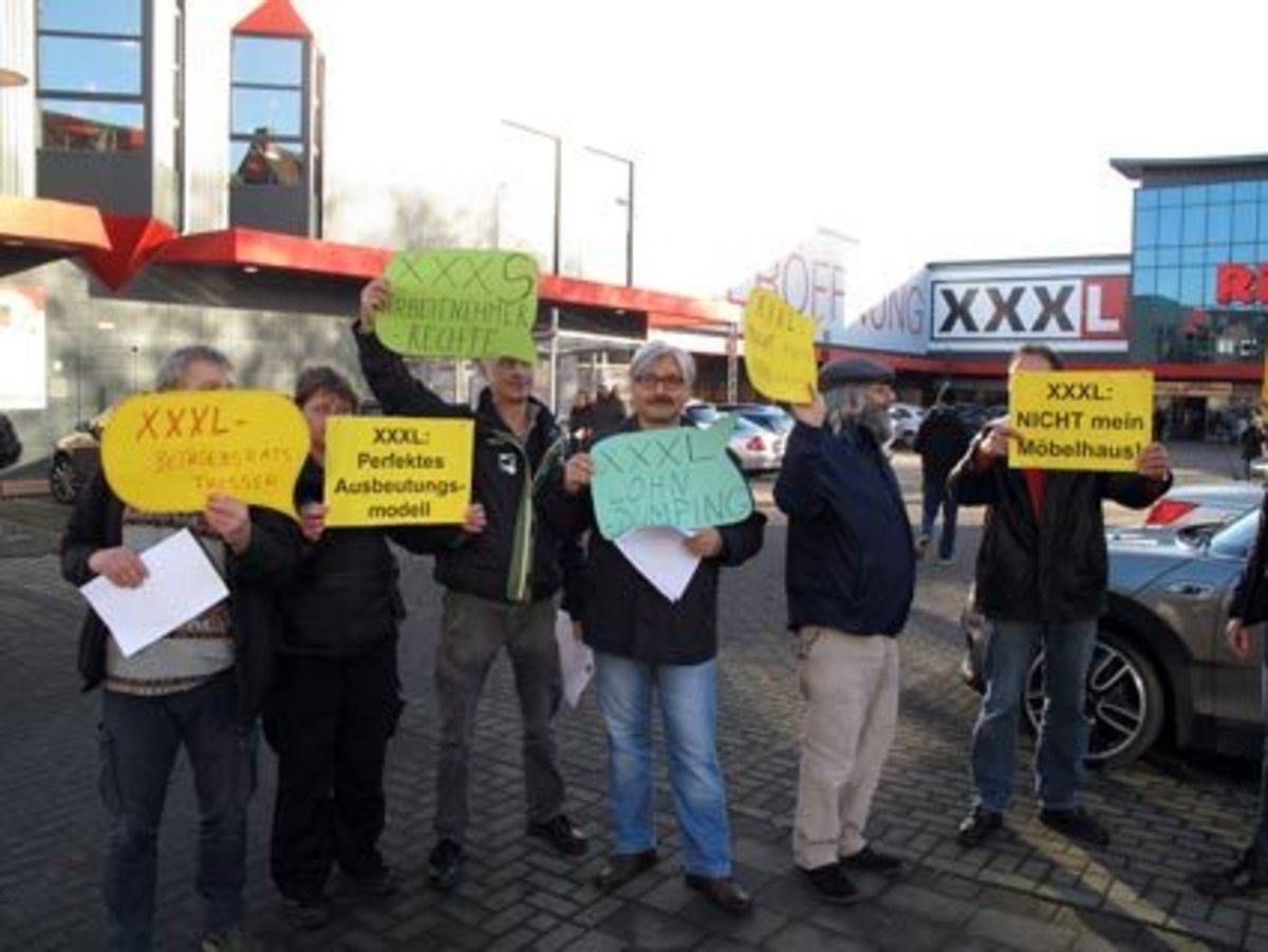 Flashmob Bei Xxxl Rück In Oberhausen Oberhausen