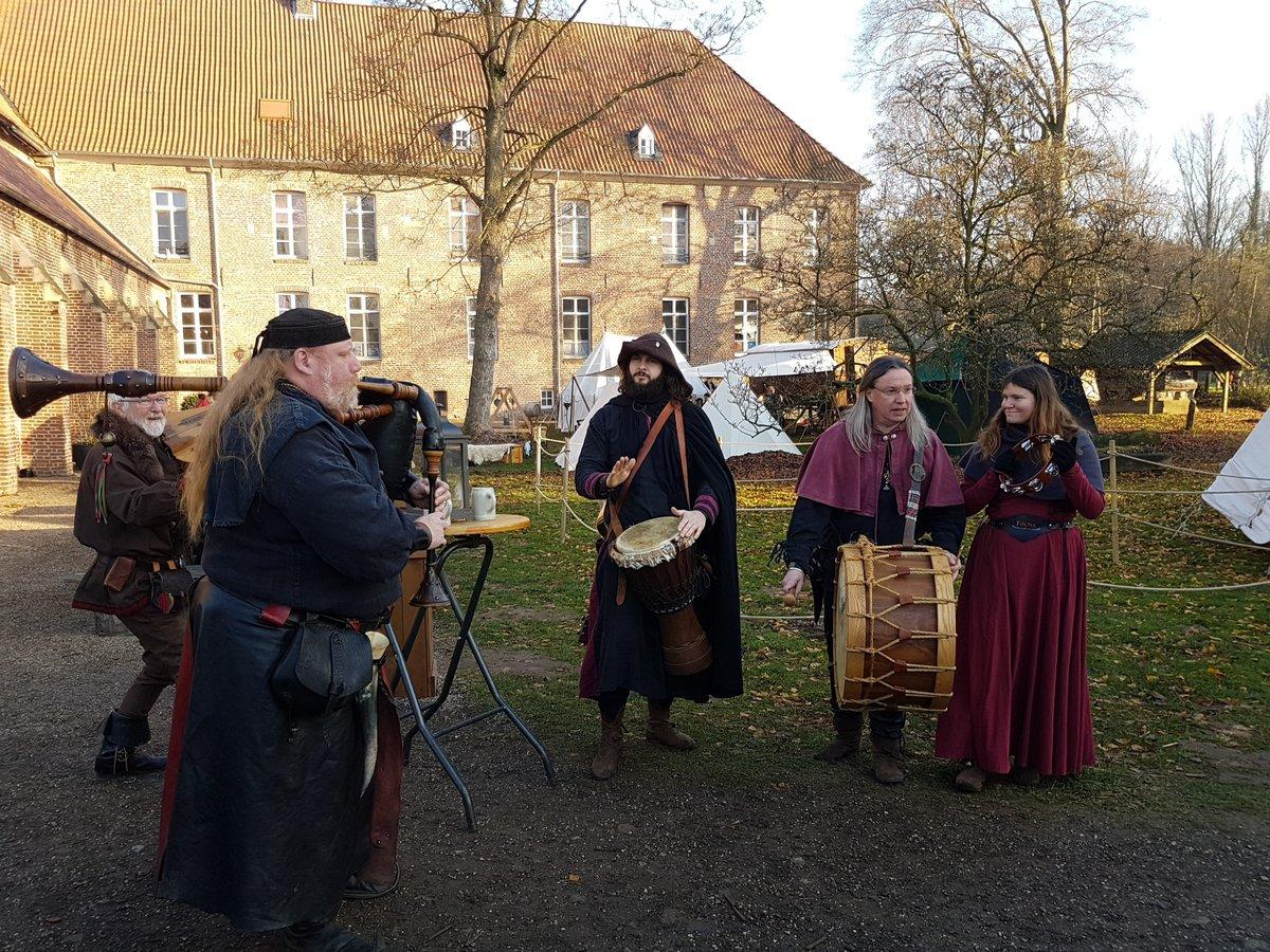So Schon Ist Es Auf Dem Weihnachtsmarkt Am Kloster Graefenthal Goch