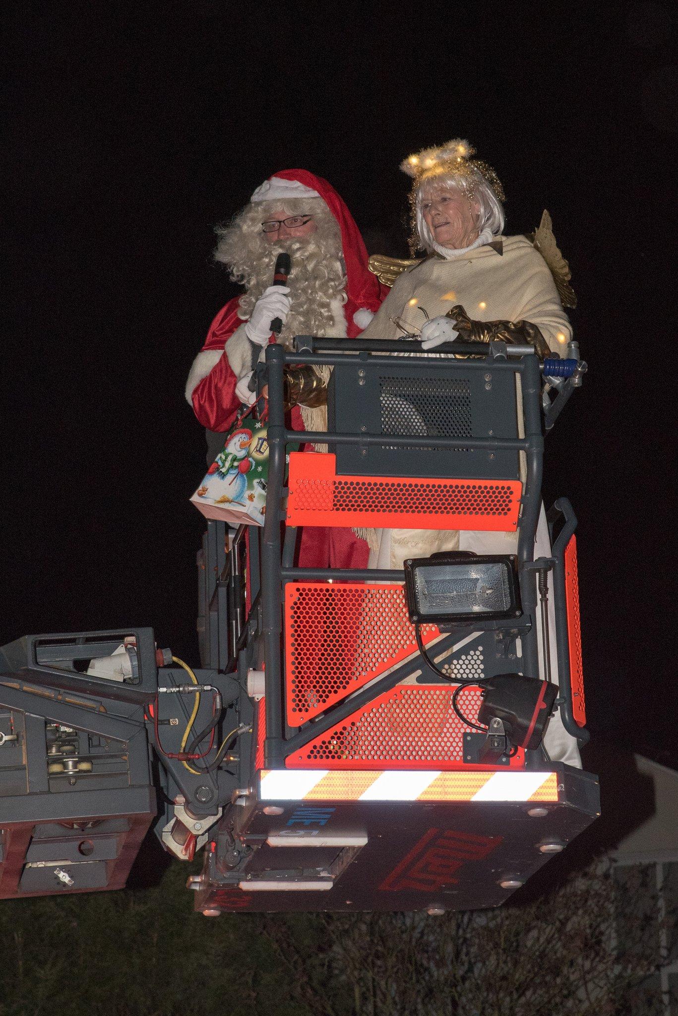 Der Nikolaus stieg die Himmelsleiter herab - Langenfeld (Rheinland)