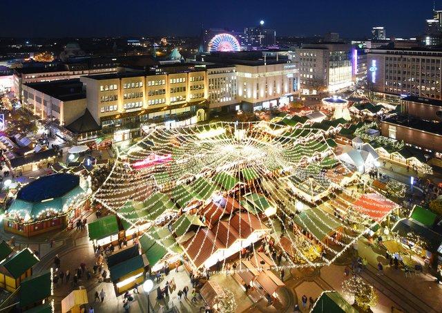 Essen Weihnachtsmarkt.15 Zufahrten Zum Internationalen Weihnachtsmarkt In Essen