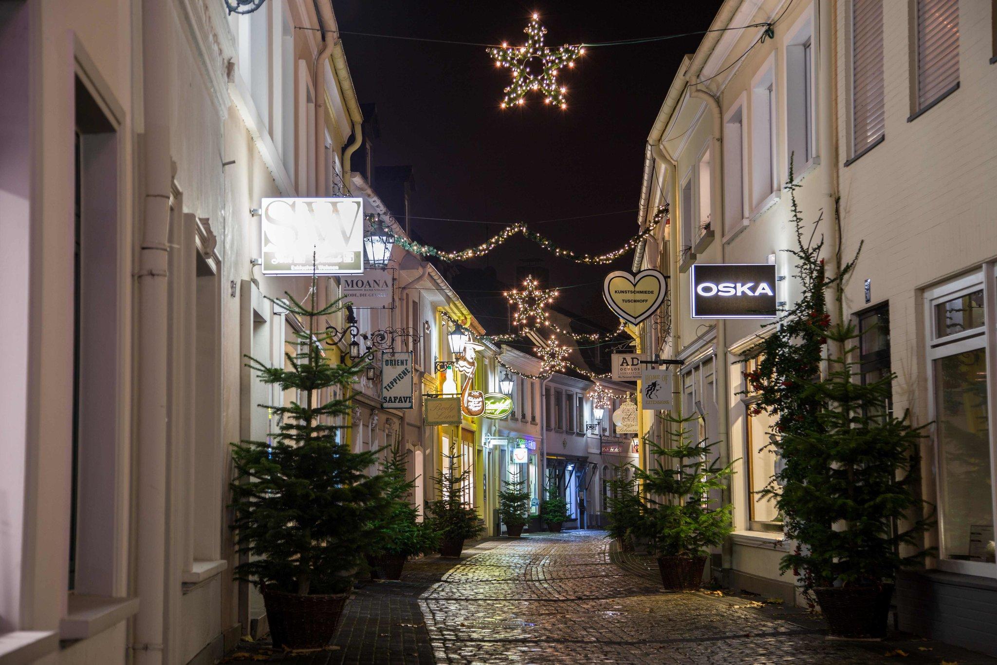 Kunstschmiede Weihnachtsbeleuchtung.Weihnachten Im Moers Moers