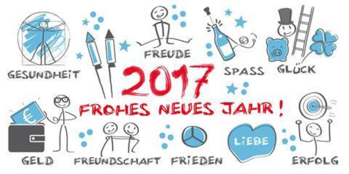 Wir wünschen allen ein Frohes Neues Jahr - Gladbeck