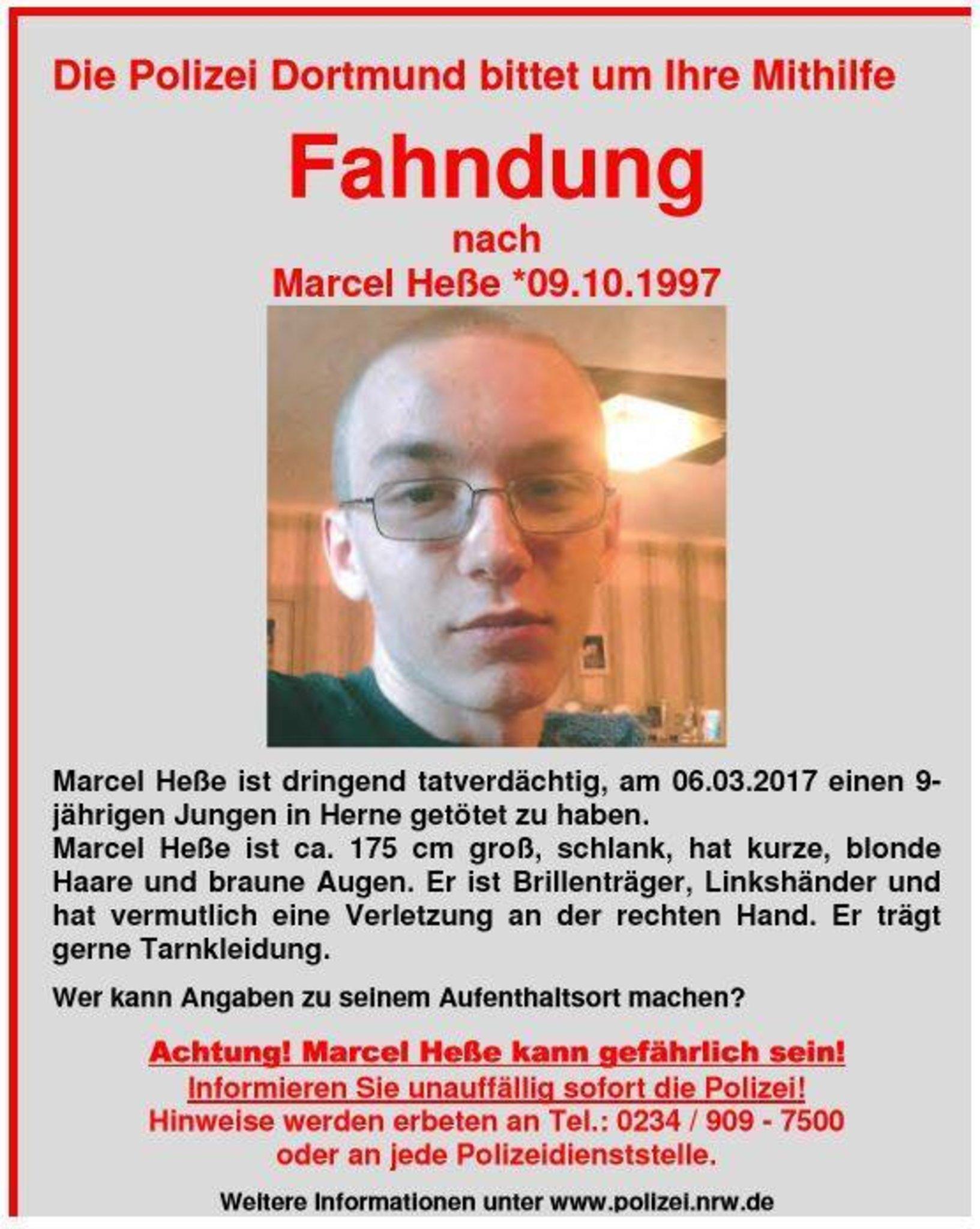 Marcel Heße Leiche