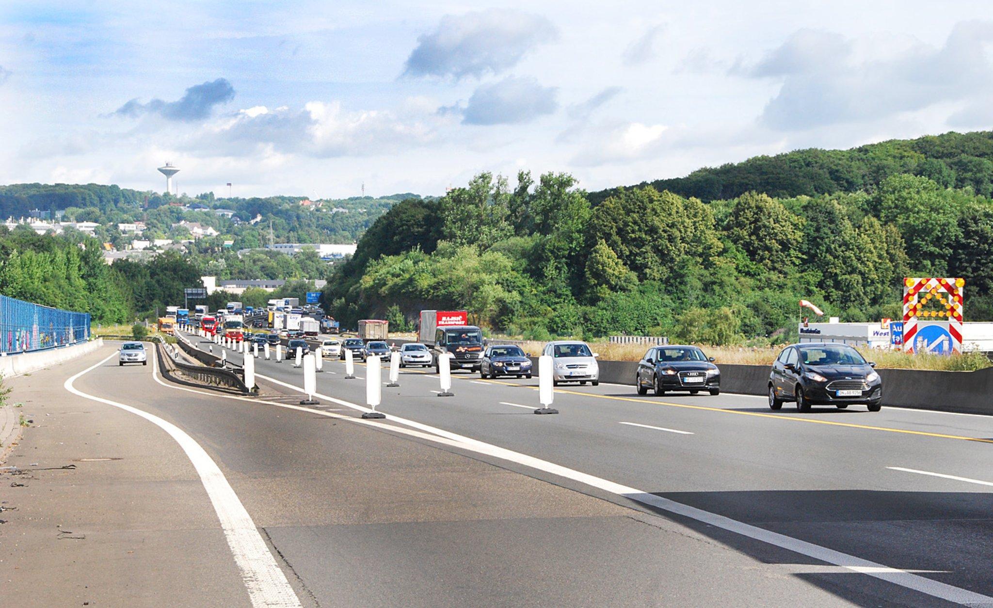 Baustelle A1 Köln