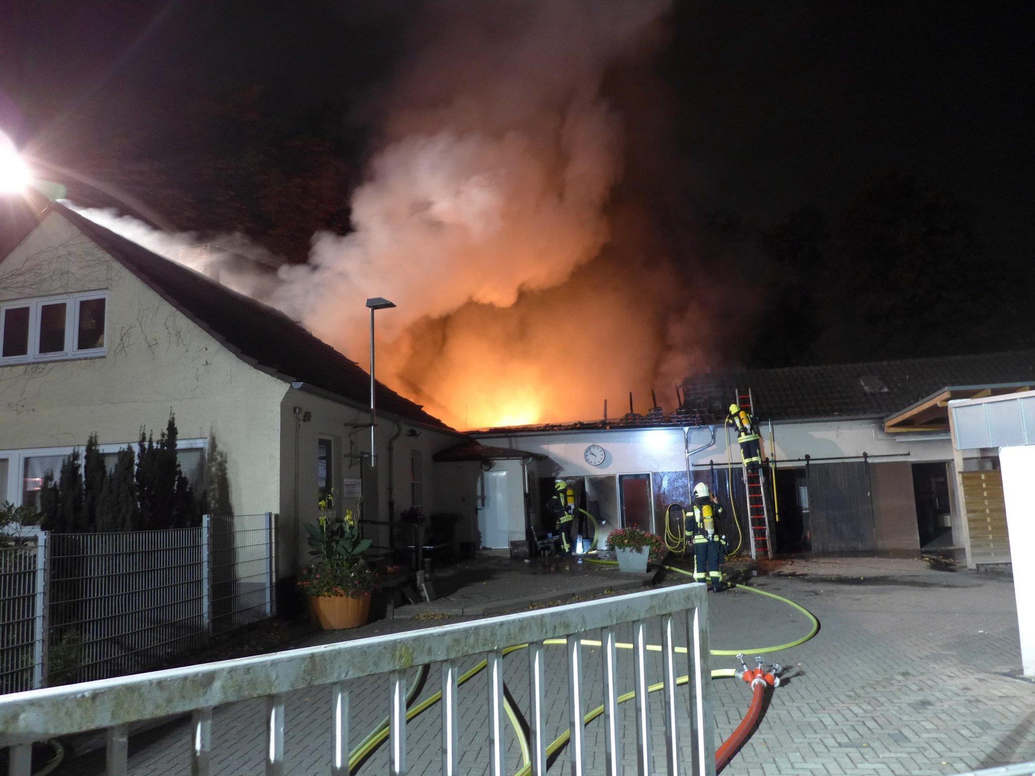 Feuer In Oberhausen
