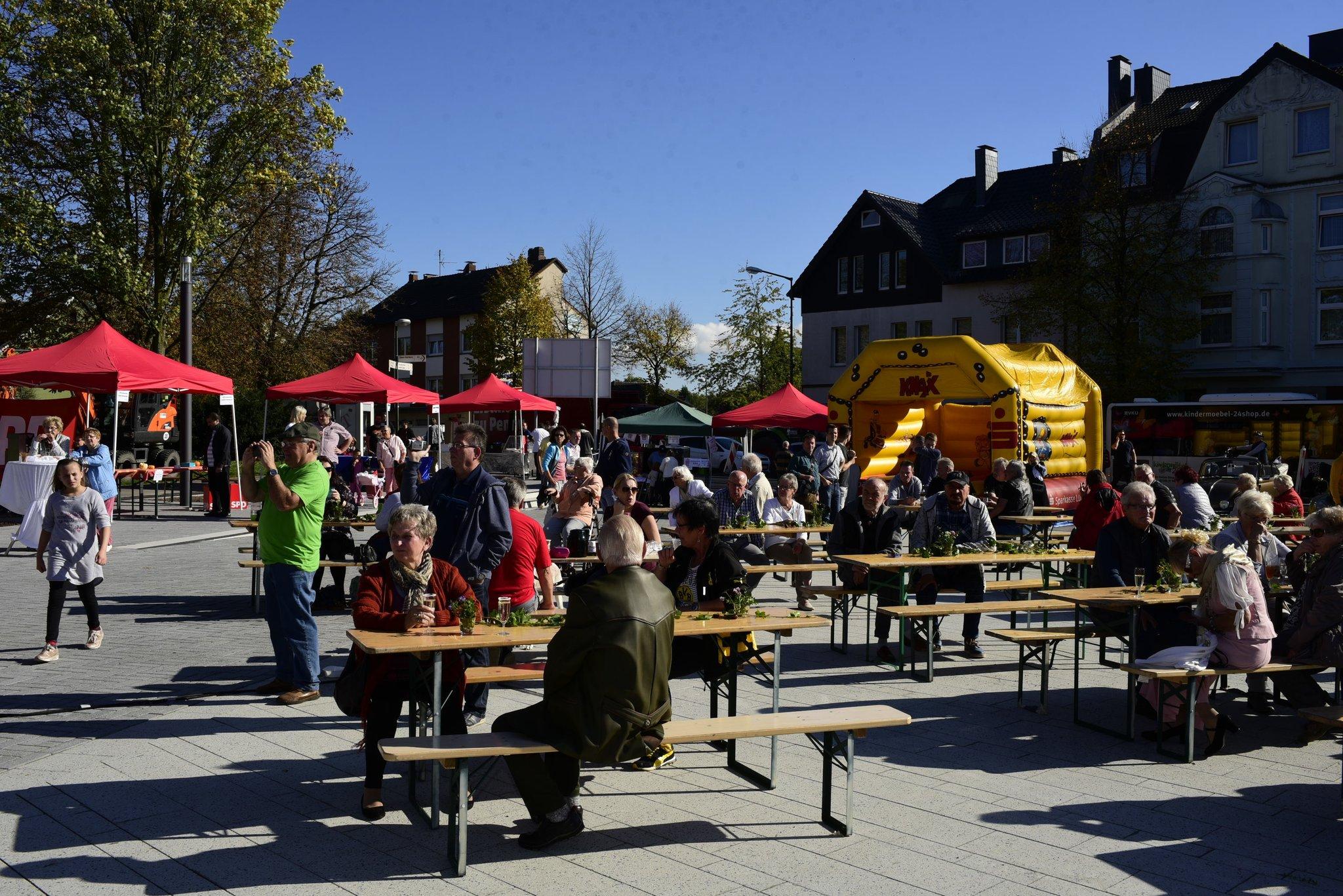 Der Bürgerplatz In Lünen Süd Ist Eröffnet Lünen