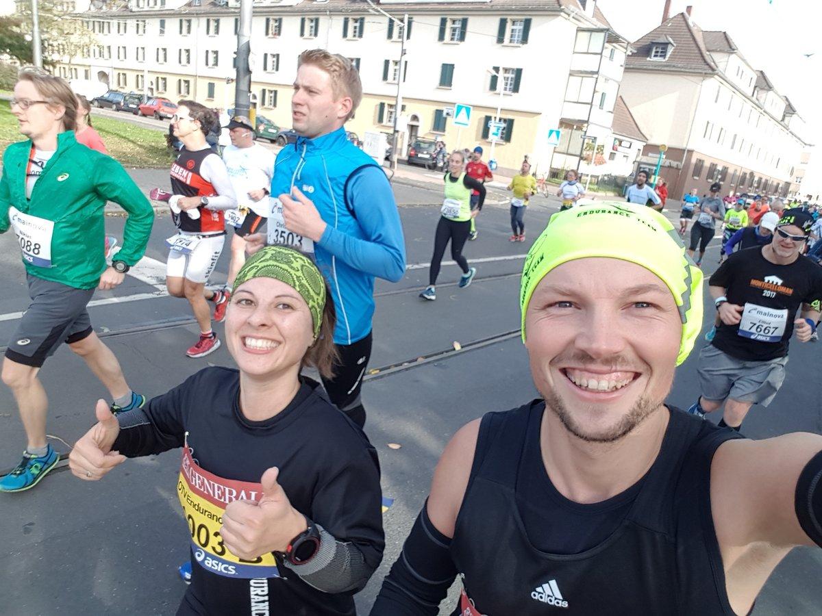 Ausdauersportler Beim Frankfurt Marathon Oberhausen