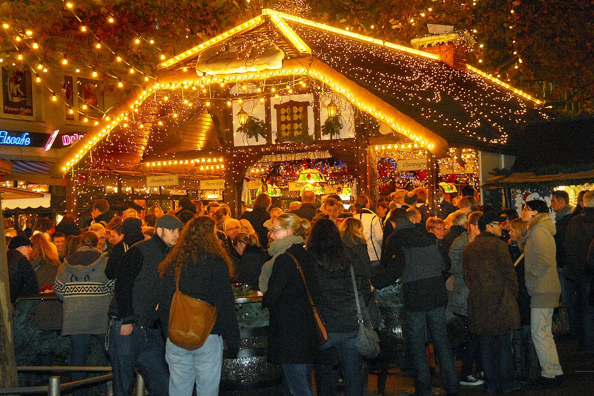 Dortmunder Weihnachtsmarkt öffnet Heute Dortmund City