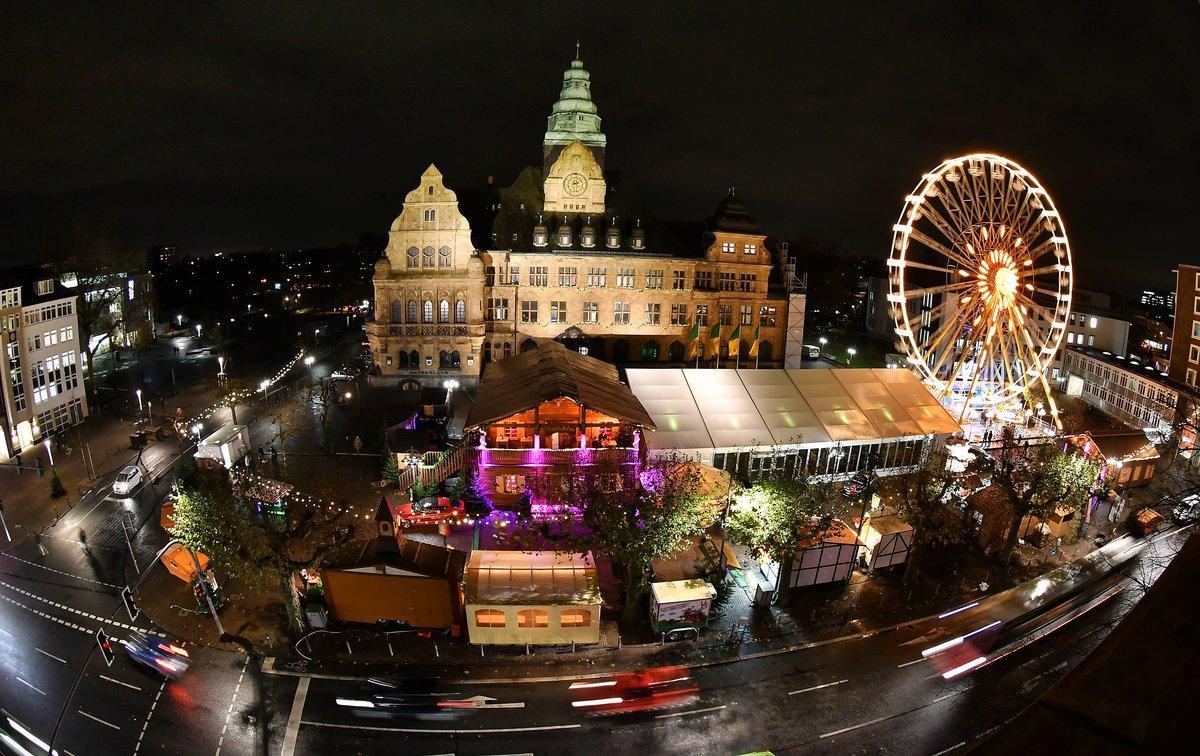 Weihnachtsmarkt Recklinghausen.Recklinghäuser Weihnachtsmarkt 2017 Eröffnet Recklinghausen