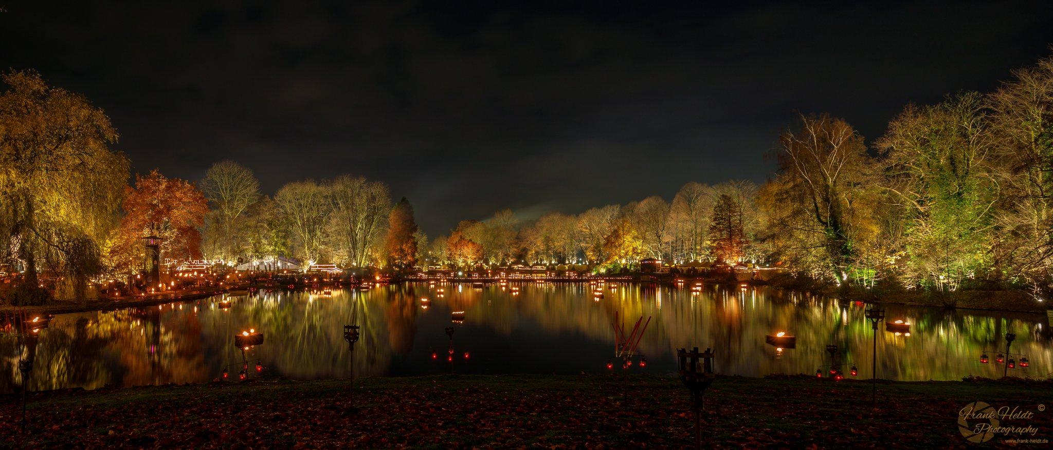 Mittelalter Weihnachtsmarkt Dortmund.Phantastischer Mittelalterlicher Lichter Weihnachtsmarkt Dortmund