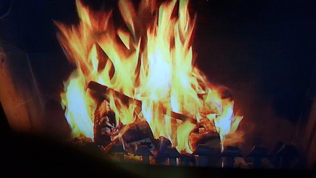 Auf Ihr Feuer Muss Man Einfach Stehen