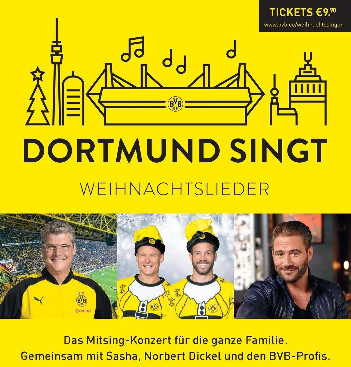 9x9 Tickets für das BVB-Weihnachtssingen zu gewinnen - Dortmund-City