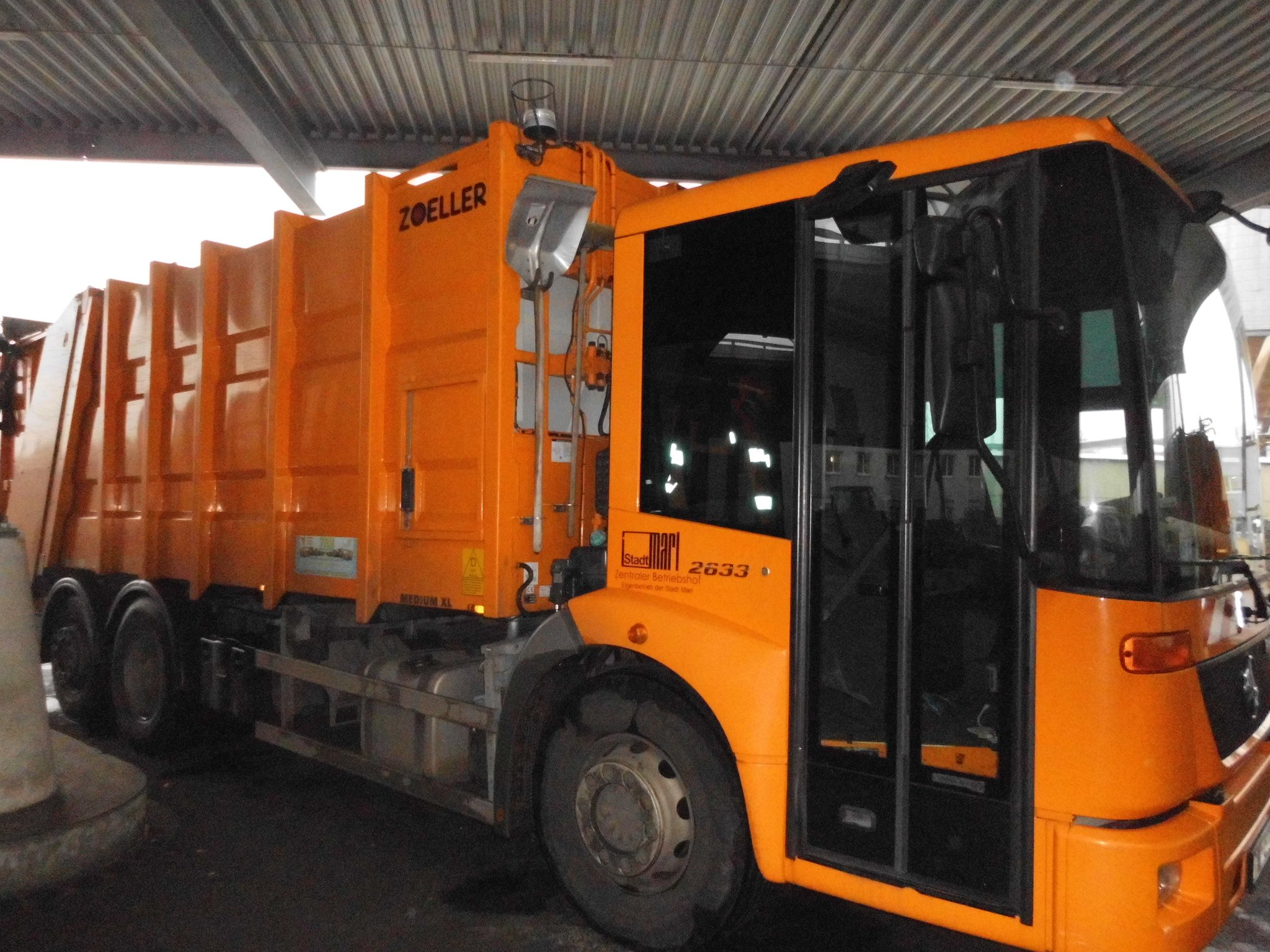Müllabfuhr Verpasst