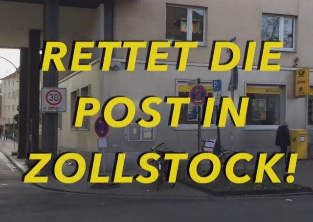Post Köln Zollstock