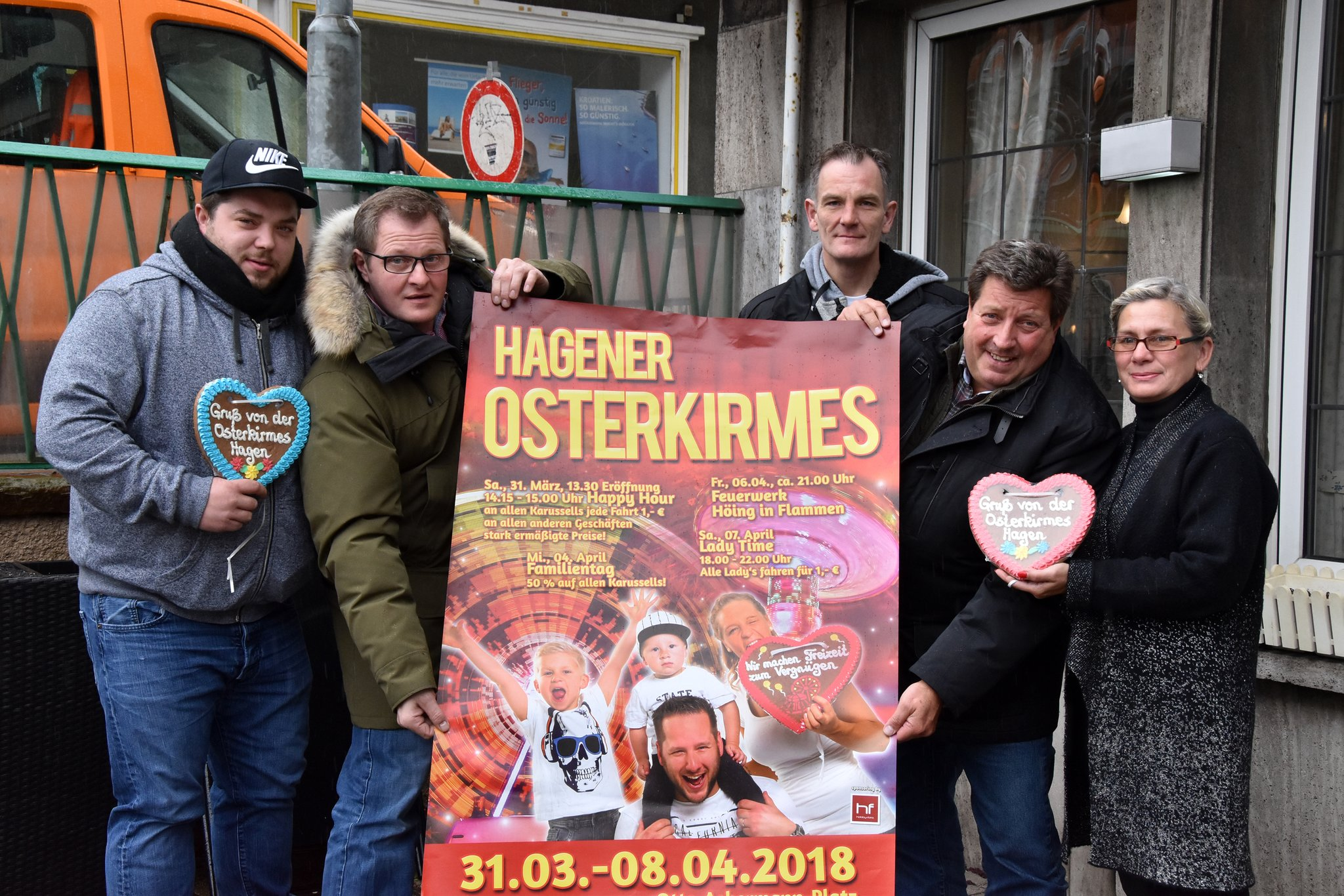 58. Osterkirmes in Hagen: Spektakuläre Karussells und tolles ...