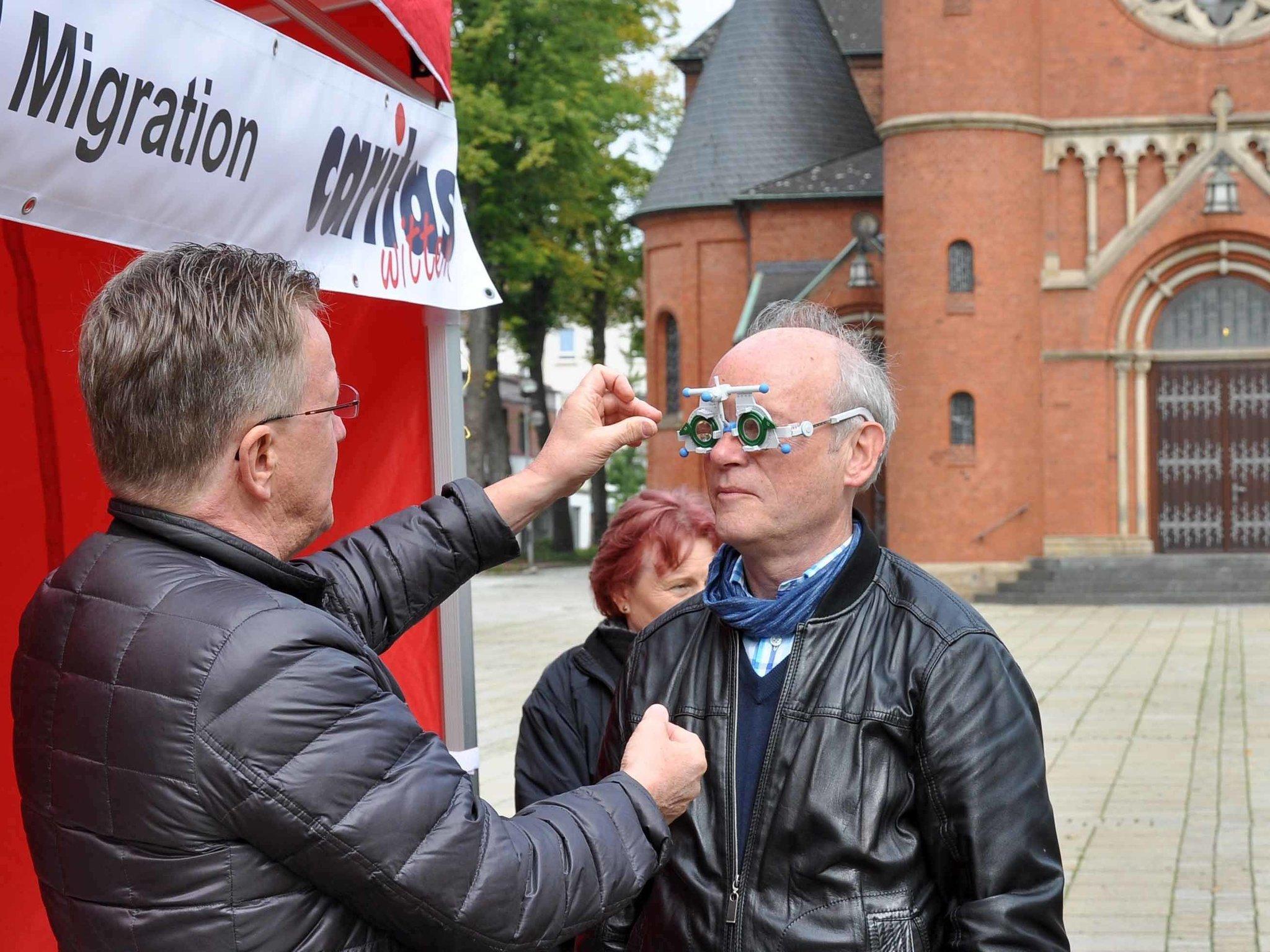 Caritas Brillen Spenden