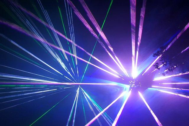 Laser Show Zum Jubiläum 30 Maifest In Holthausen Am