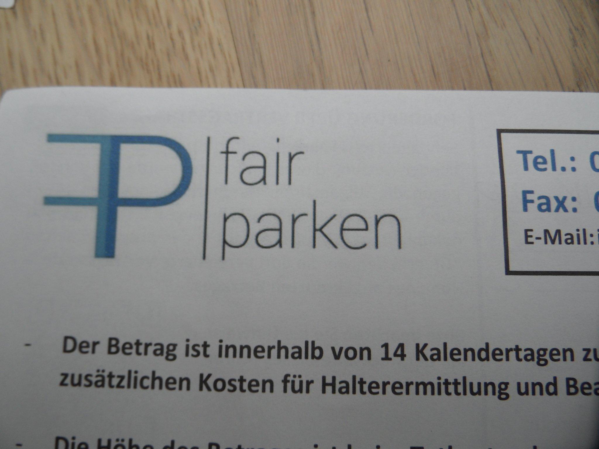 """""""FAIR PARKEN Warum das Internet vor Parkabzockern warnt"""