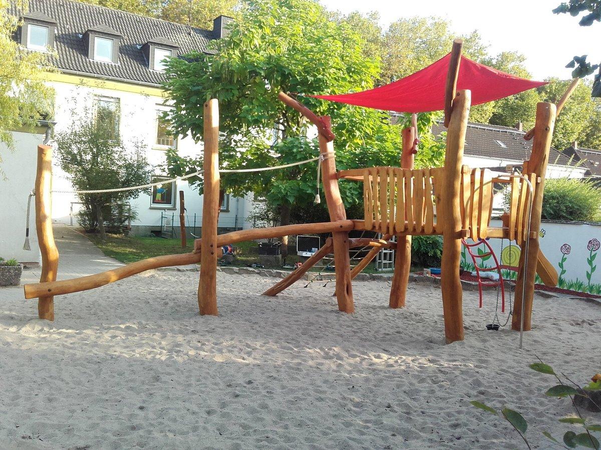 Klettergerüst Für Kleinkinder : Sommerfest im ossenberger kindergarten rheinberg