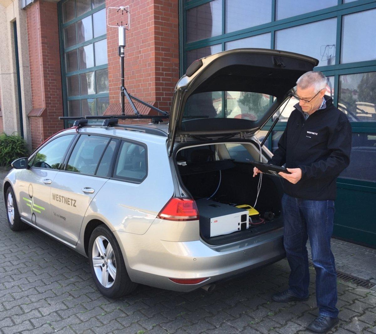 Westnetz Testet Messverfahren Zur Gasnetzüberprüfung In Dorsten