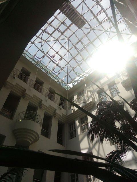 Im Tausendfensterhaus Duisburg