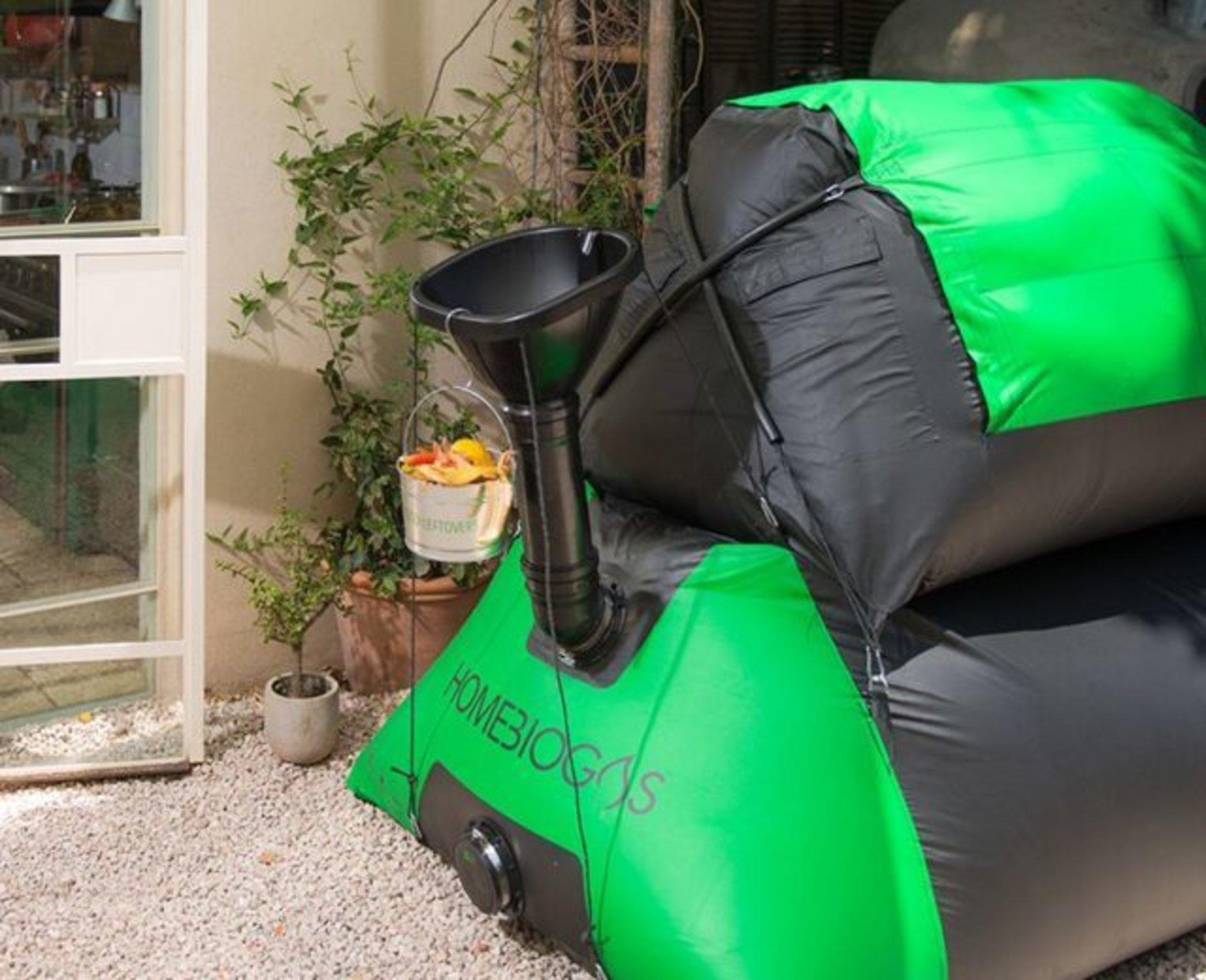 Top Biogas der kleine Drachen für deinen Balkon - Bochum #IY_56