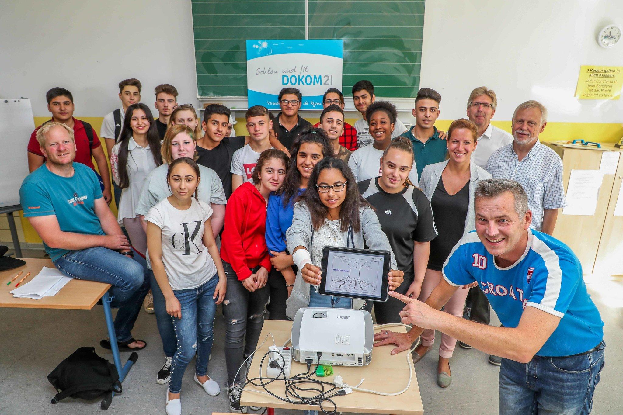 """Projekt """"schlau & fit hilft Hauptschülern Berufe zu"""