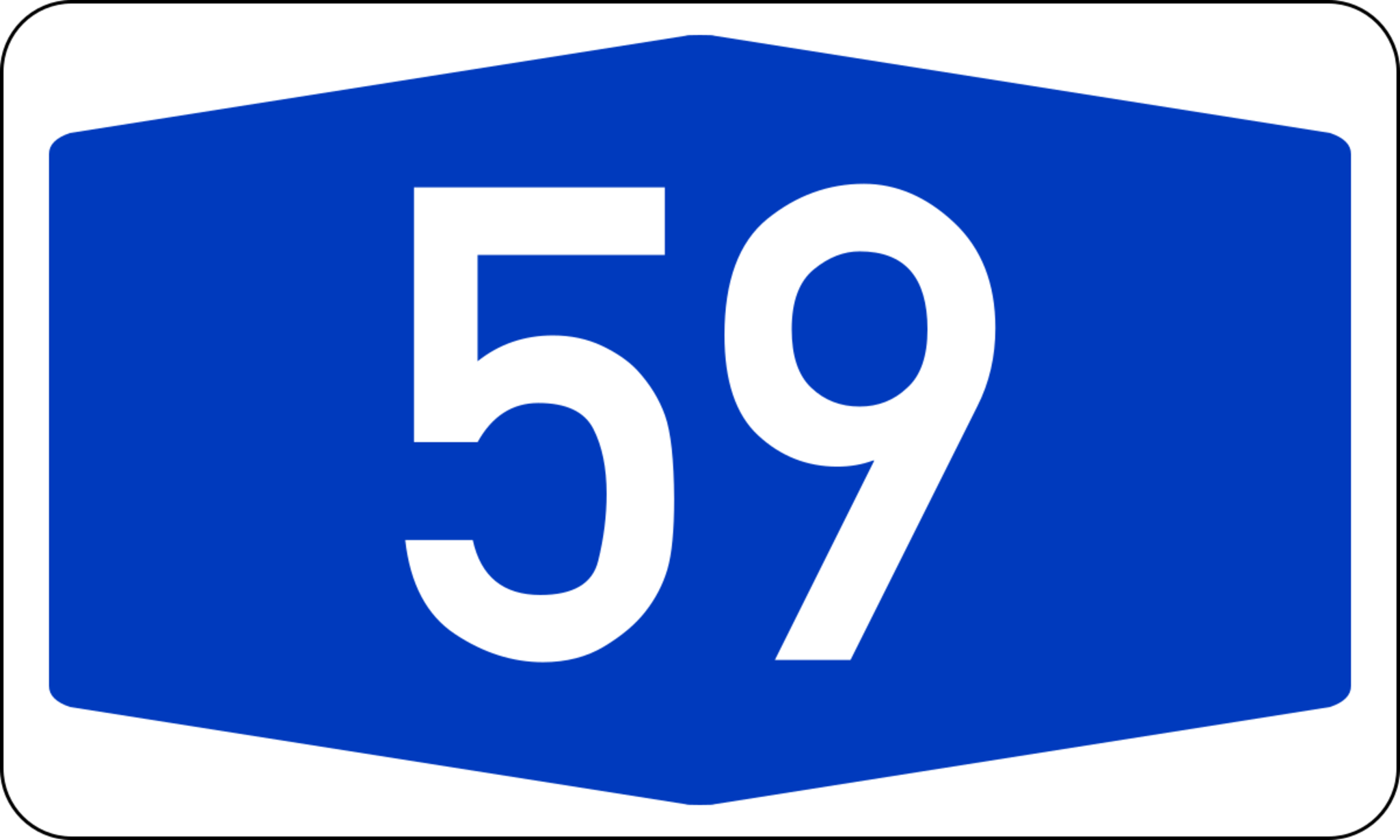 Vollsperrung A59