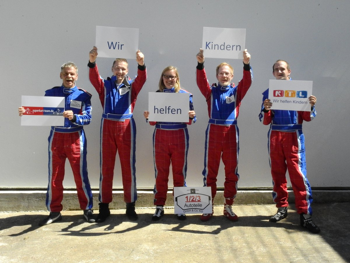 Rtl Spendenmarathon 2016 Superkartteam1 2 3 Autoteile Gmbh Cokg