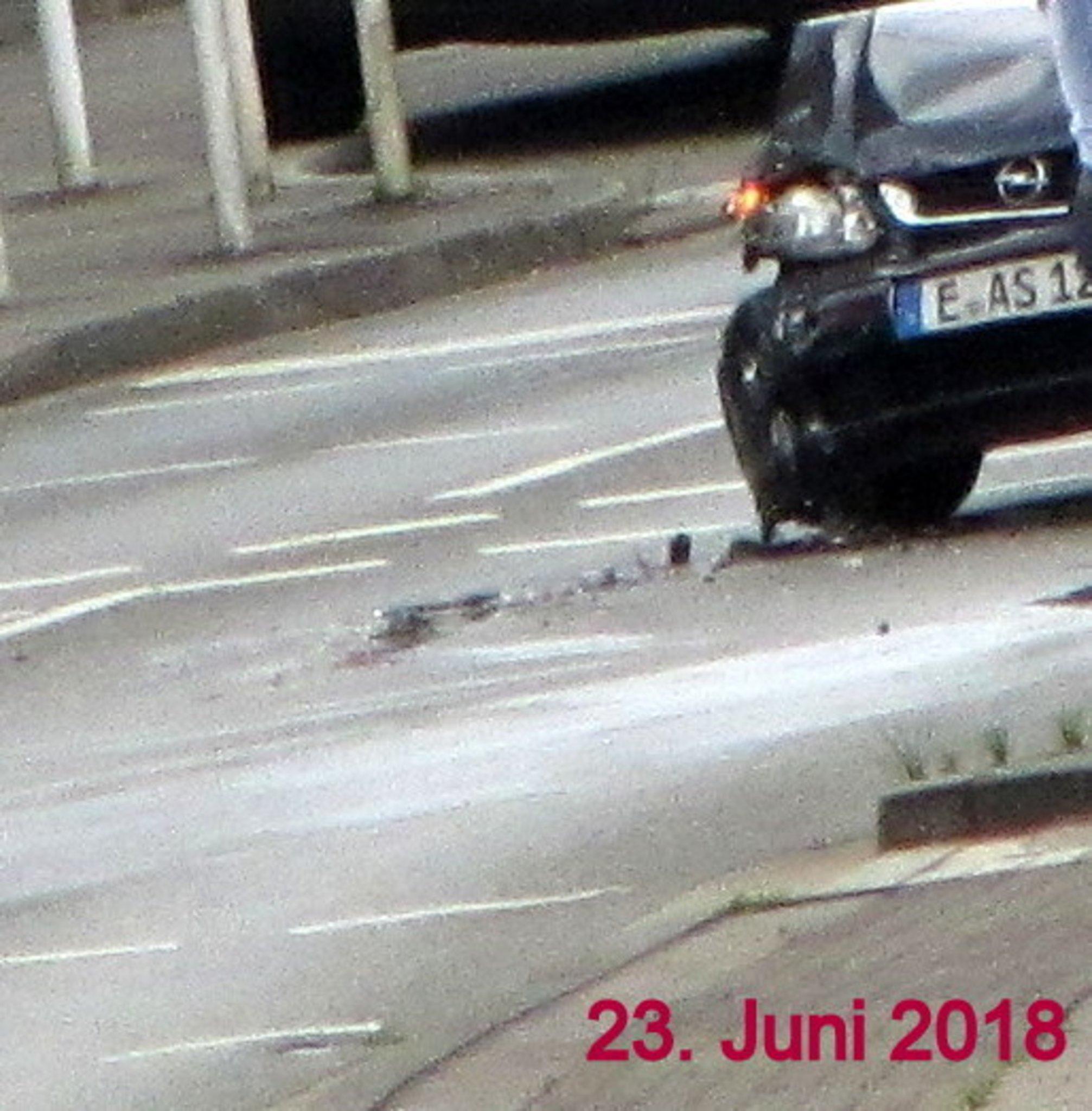 Das Lebensgefährliche Nichtstun Einer Stadt Unfälle Auf Der B224