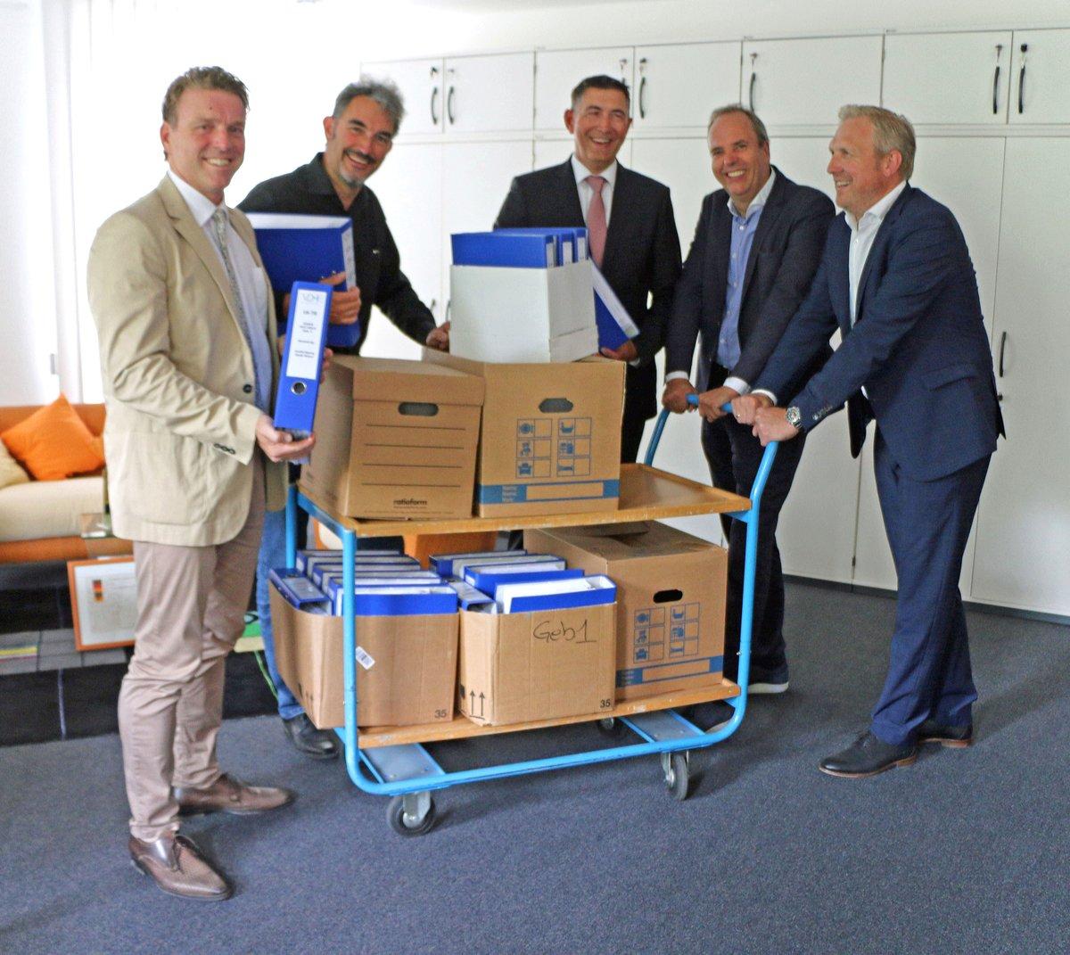 Bauantrag Für Neue Verwaltung Edeka Rhein Ruhr Gestellt Moers