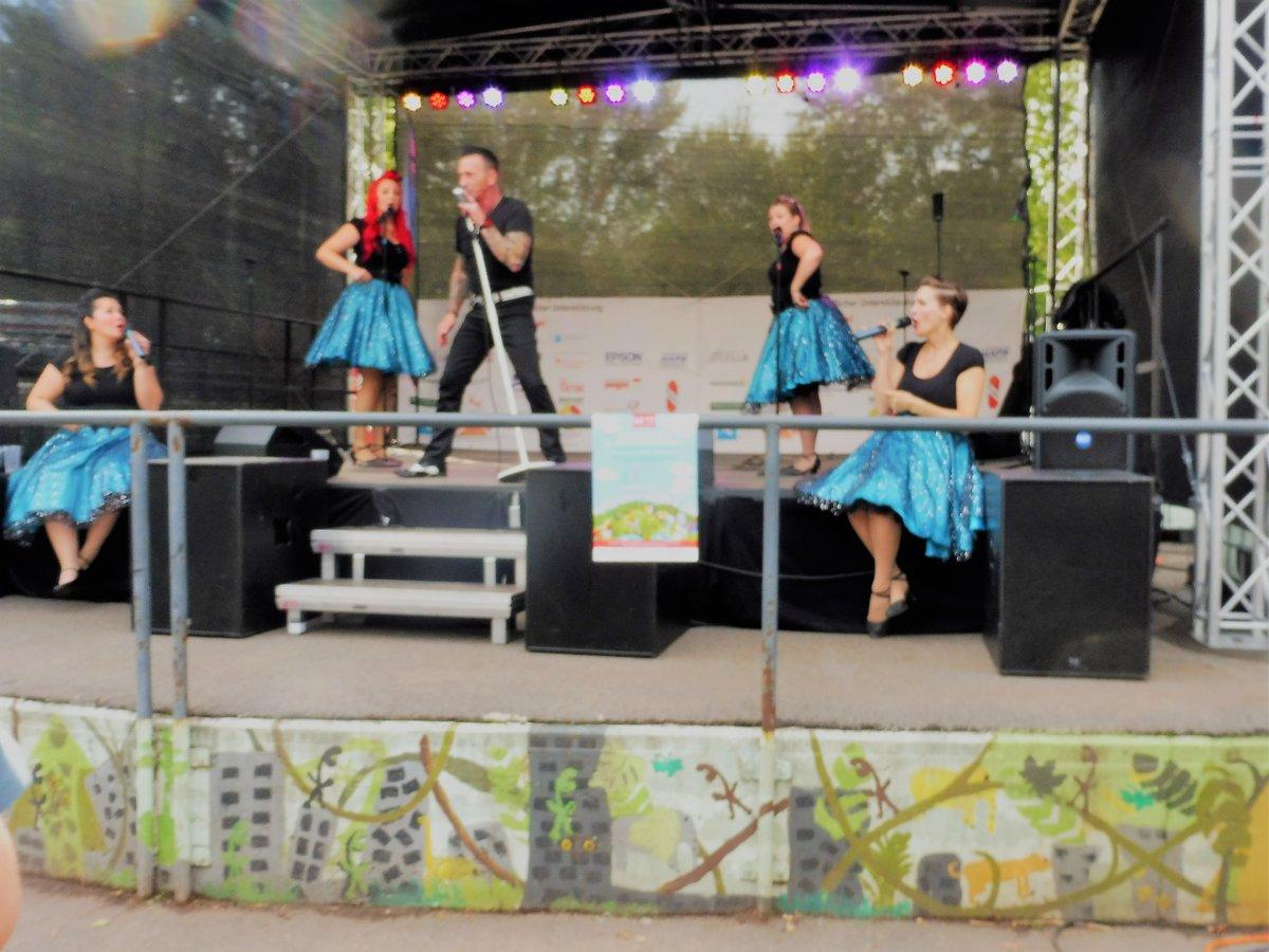 Große Feier im Südpark mit Spielplatzeinweihung - Düsseldorf