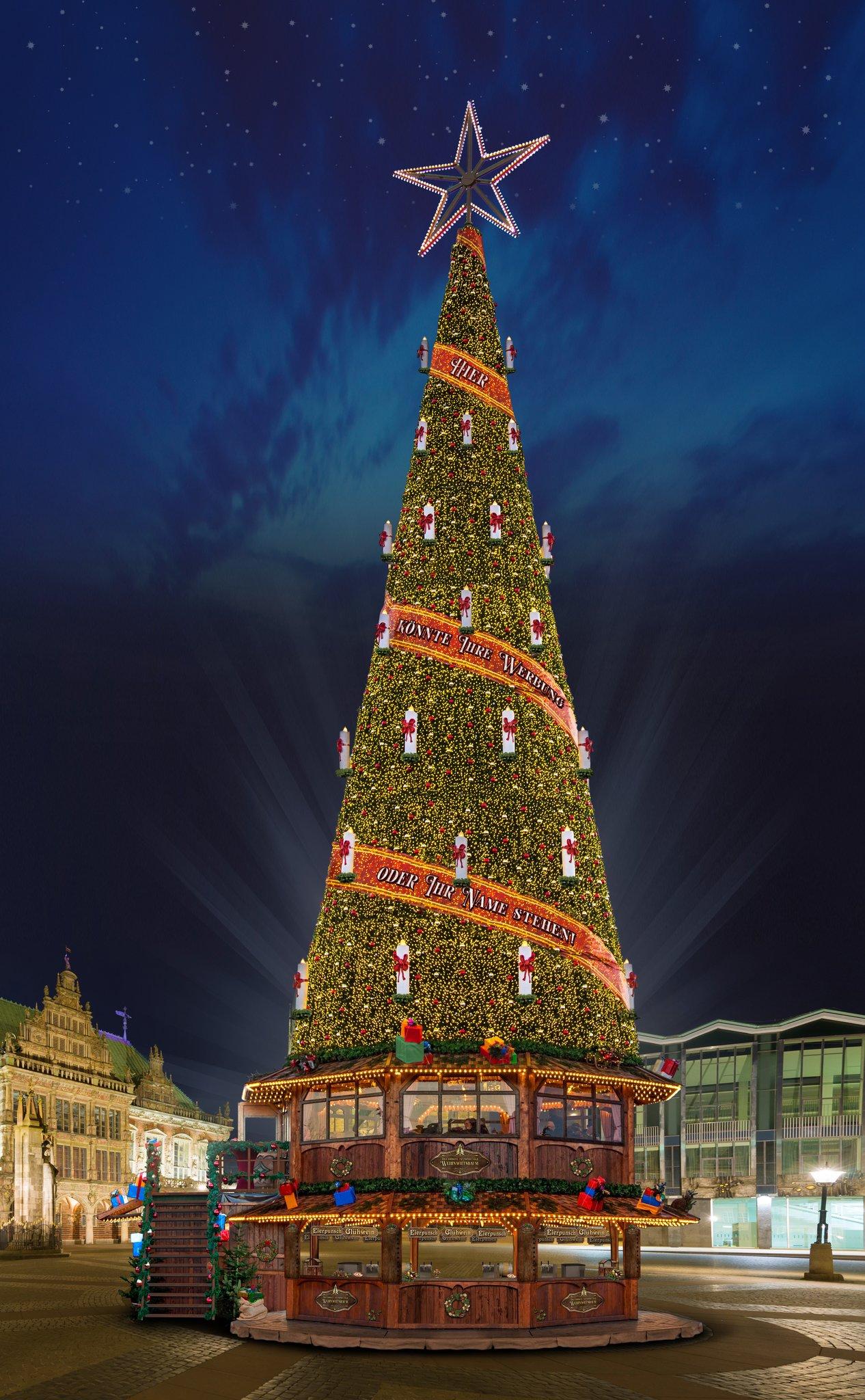 Der Weihnachtsbaum.Der Größte Weihnachtsbaum Der Welt Herne
