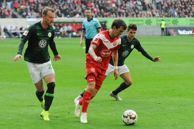 Wolfsburg Gegen Düsseldorf