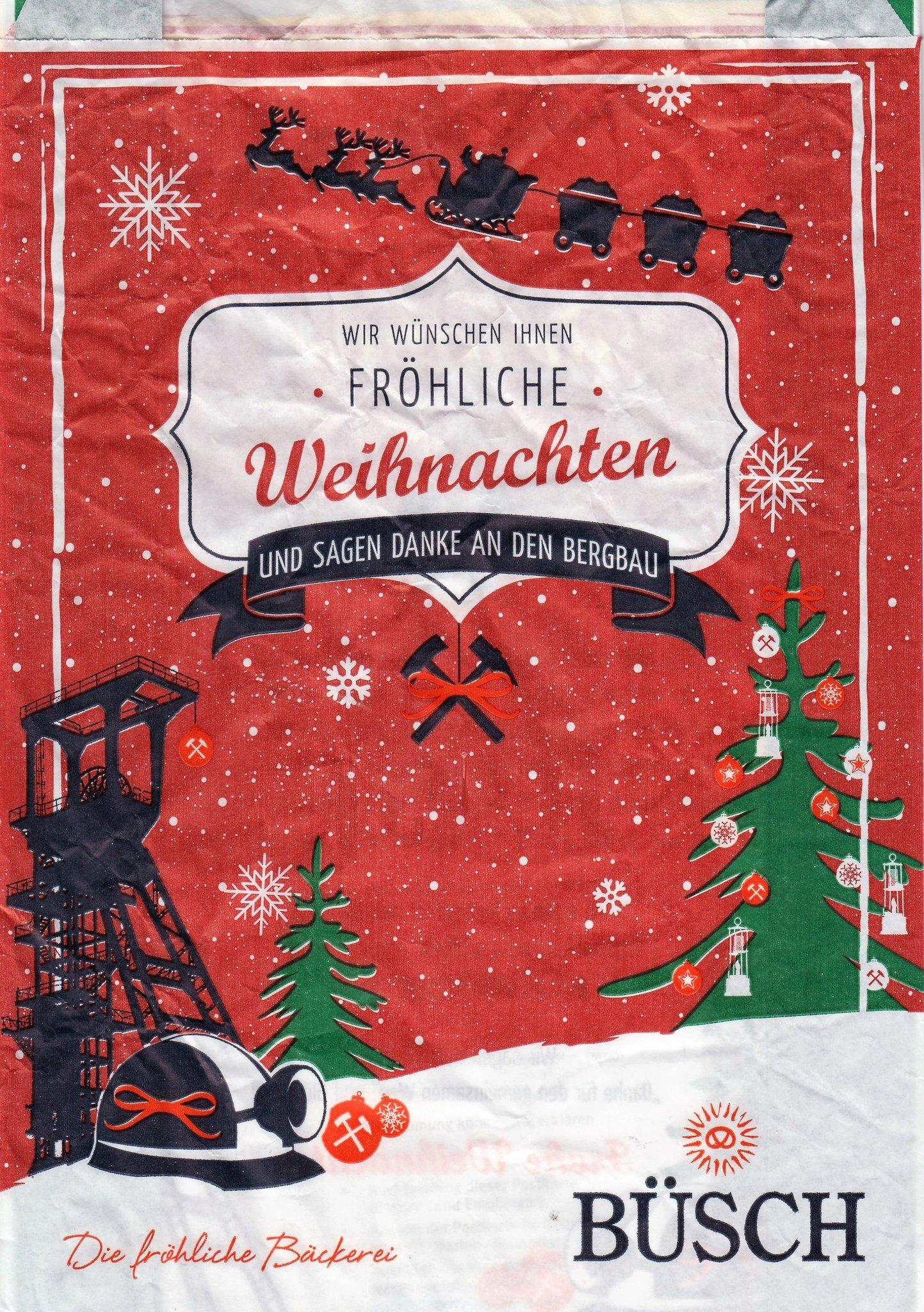 Bergbau: Fröhliche Weihnachten - Herne