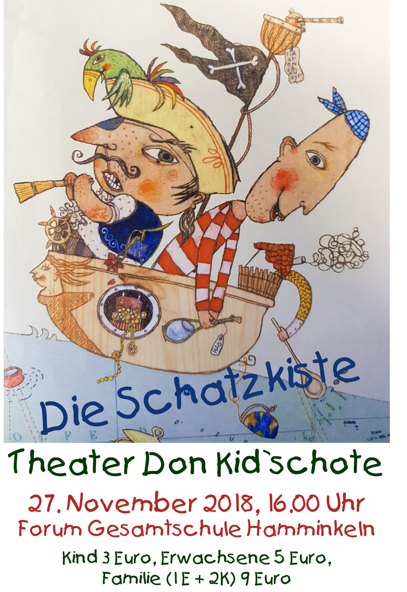 Theater Für Kinder Don Kidschote Im Forum Der Gesamtschule
